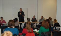Reunión de capacitación de consejeros de Proyecto Raquel, organizada por Spei Mater