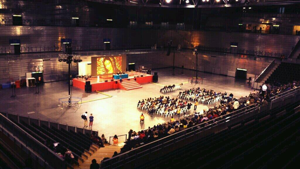 Dalavida2014 en el pabell n multiusos i de la casa de - Pabellon casa de campo madrid ...